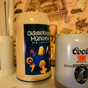 Lot of 3 Collectible Steins from my travels